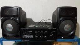 Som Amplificador da Quasar Qa1150