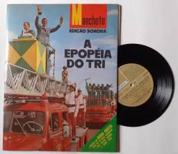 Revista Manchete - A Epopeia Do Tri (jun/1970) + Lp Compacto