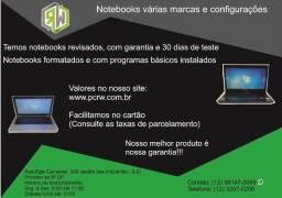 Veja nossos modelos de Notebooks a partir de R$ 800,00