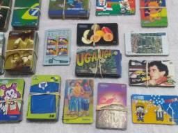 Vendo Coleção de cartões telefônicos raros. São 966 nacionais e internacionais.
