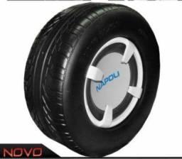 """Título do anúncio: caixa amplificada sub ativo injetado formato pneu napoli com modulo subwoofer 12"""""""