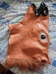 Título do anúncio: Mascara cavalo marrom festa cosplay