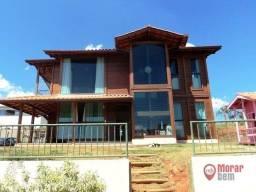 Título do anúncio: Casa com 3 dormitórios à venda, 226 m² por R$ 900.000,00 - Condomínio Mirante do Fidalgo -