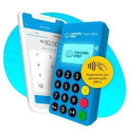 Título do anúncio: Maquininha de cartão mercado pago via bluetooth