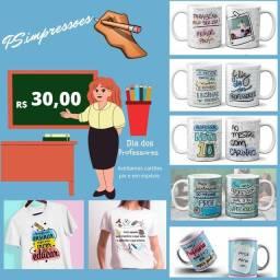 Título do anúncio: Camisas dia dos professores