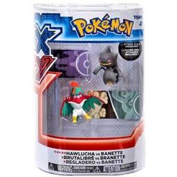 Pokemon X & Y Hawlucha vs Banette Figure 2-Pack