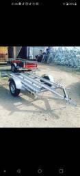 Carreta para 3 motos