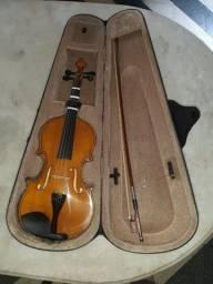 Título do anúncio: Violino Valentino 4/4 seminovo