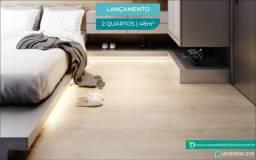 Título do anúncio: Flat com Piscina na Cobertura   Varanda   a 70 metros do mar no Cupe   2 Quartos