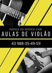 aulas de violão nas residências legalizados