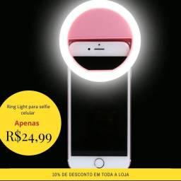 Ring Light para selfie celular