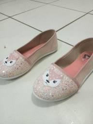 Sapato com gliter
