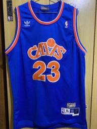 Camisa Cleverland Cavaliers Lebron James #23 Retrô Hardwood Classics