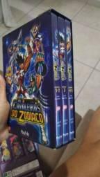 Dvds Coleção Cavaleiros do Zodíaco