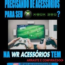 Acessórios para XBOX 360- ENTREGA GRÁTIS