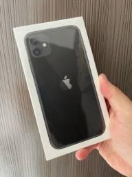 iPhone 11 64 preto Lacrado até 12x