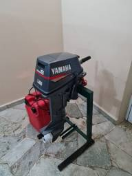Motor de popa 8 hp yamaha 2008