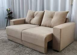 Título do anúncio: Sofá Retrátil Estrela com Almofadas Soltas 1,80 m