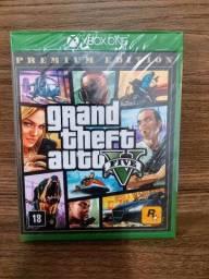 Gta V Premium Edition - Xbox One - Mídia Física - Lacrado (Limeira - SP)