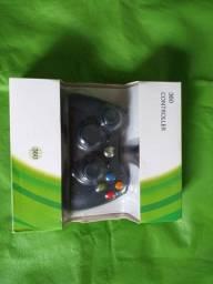 Controle Xbox 360 novo.