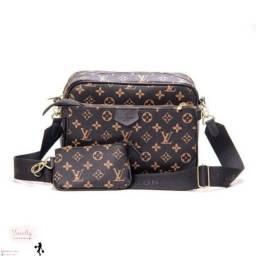 Título do anúncio: Bolsa Canguru 3em1 Louis Vuitton