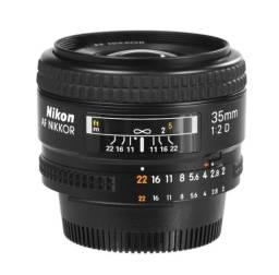 Lente Nikon AF 35mm f/2.0D