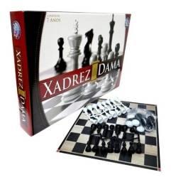 Título do anúncio: Jogo Xadrez E Dama