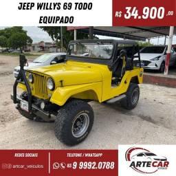 Título do anúncio: Jeep willys 69 !!