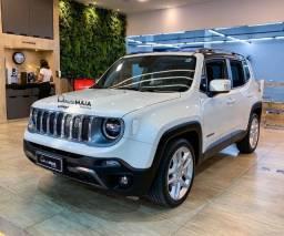 Jeep Renegade Limited 1.8AT Branco Pérola na Garantia Top!!!