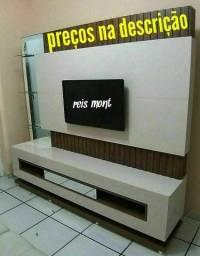 Instalação de SUPORTES DE TV e monitores em geral. serviço profissional. LEIA
