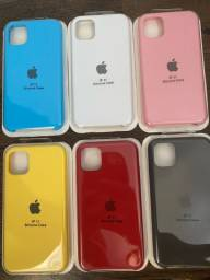 Capas para iPhone 11 silicone aveludado