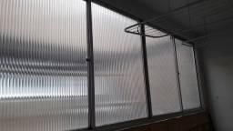 Vendo janelao de alumínio bem conservado