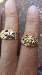 Título do anúncio: Vendo lindo anel grosso da magold
