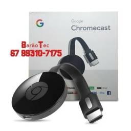 Título do anúncio: Novidade Google Chromecast 3 2019 Hdmi 1080p Lançamento! Original!