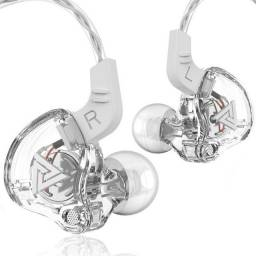 Fone De Ouvido Qkz Ak6 Branco In Ear