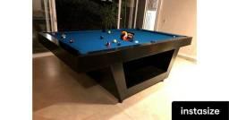 Mesa de sinuca elite + tampão de ping pong . ?