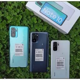 Redmi Note 10 128GB/6GB Ram Branco/Verde/Cinza