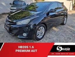 HB20S 2014/2014 1.6 PREMIUM 16V FLEX 4P AUTOMÁTICO