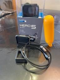 Go Pro Hero 5 Black + Acessórios.