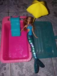 Kit de brinquedo barbie