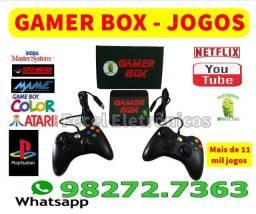 Gamer Box Jogos - 11 mil jogos - (Tvbox)