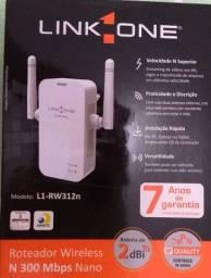 Título do anúncio: Roteador Wireless N 300 Mbps Mano L1-RW312