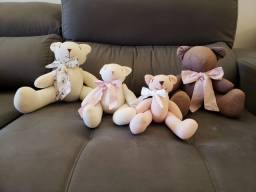 Família de ursos 100% algodão