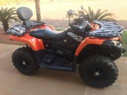 Título do anúncio: Quadriciclo Laranja  CF Motors 520 cilindradas