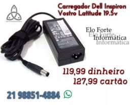 Fonte Notebook Dell Pino Grosso 19.5V