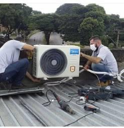 Título do anúncio: Instalação de Ar condicionado é manutenção