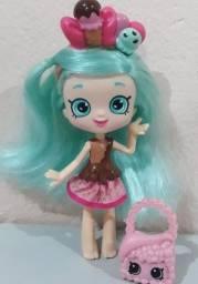 Boneca Shoppkins Shoppies Mary Menta Playset DTC