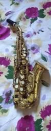 Título do anúncio: Sax soprano curvo eastman