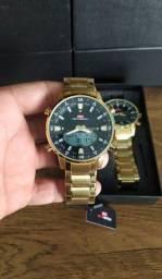 Relógio Original KAT-WACH Aprova D'água 5 ATM Entrega Grátis<br>