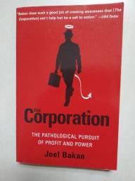 Livro The Corporation Joel Bakan Em Inglês